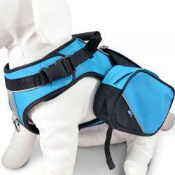 Wacky Paws Pet Sport Travel Harness, Small, Blue