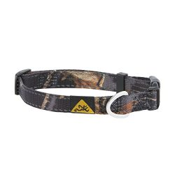 Browning Classic Dog Collar Camo Dog Collar, Classic Hunting Dog, Country Roots Black, Medium