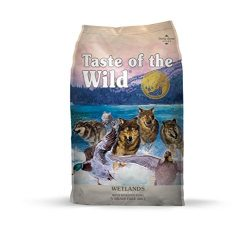 Taste Of The Wild Grain Free High Protein Dry Dog Food Wetlands – Roasted Duck