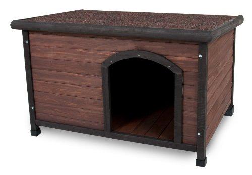Aspen Pet Ruff Hauz Off Set Door Dog House, 50 to 90-Pound