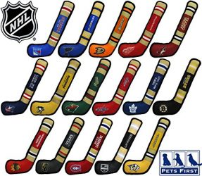 NHL Washington Capitals Stick Toy for Dogs & Cats. Play Hockey with Your Pet with This Licensed Dog Tough Toy Reward!