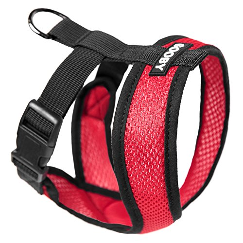 Gooby Choke Free Comfort Soft Dog Harness, Red, X-Large