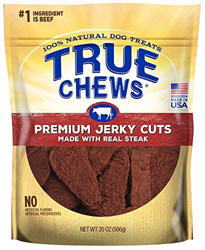 True Chews Premium Jerky Cuts Made With Real Steak 20 Ounce