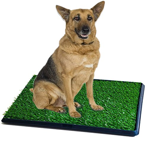 Synturfmats Pet Potty Patch Training Pad for Dogs Indoor or Outdoor Use, Large Size 20″x30″