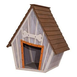 Tierra Garden Whimsical Crooked Doghouse