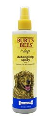Burt's Bees for Dogs Natural Detangling Spray with Lemon and Linseed | Dog and Puppy Fur Detangler, 10 Ounces