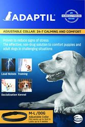 Adaptil adjustable collar:24-7 calming and comfort M-L/Dog