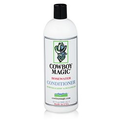 Cowboy Magic Rosewater Conditioner REVITALIZES AND DETANGLES 32 Ounce
