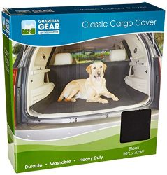 Guardian Gear Classic Cargo Covers — Protective Cargo Covers for traveling with Dogs, Black