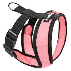 Gooby Choke Free Comfort Soft Dog Harness, Pink, X-Large