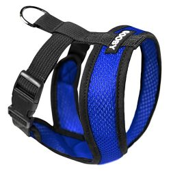 Gooby Choke Free Comfort Soft Dog Harness, Blue, X-Large