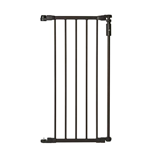 North States 15″ Extension for Bronze Deluxe Décor Baby Gate: Expands your gate up to 87″ for extra wide spaces (Adds 15″ width, Bronze)