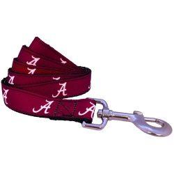 NCAA Alabama Crimson Tide Dog Leash (Team Color, Large)