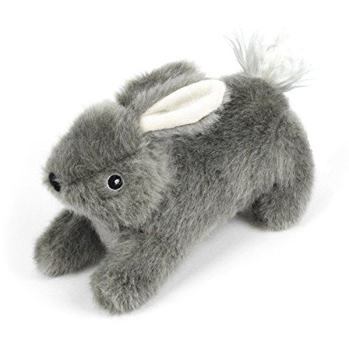 Martha Stewart Rabbit Plush Dog Toy for Gentle Play