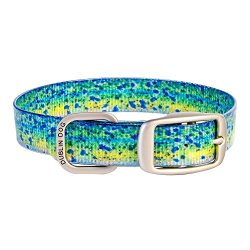 Dublin Dog 67932 KOA Fish Mahi Mahi Dog Collar, Medium