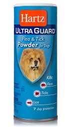 Hartz Ultra Guard Flea And Tick Powder For Dogs, 4 oz