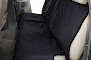 Canine Covers Econo 2nd Row Semi-Custom Fit Seat Protector – Polycotton (Black)
