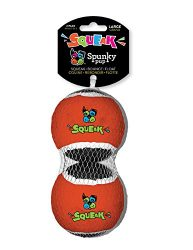 Squeaky Tennis Balls 2-Pack Large