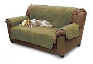Furhaven Pet Furniture Protector | Home Loveseat Protector/Cover for Dogs & Cats, Sage