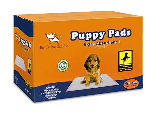 Best Pet Supplies – Premium Puppy Training Pad – 100 Pcs, Pink