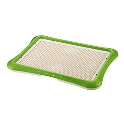 Richell Paw Trax Mesh Training Tray, Green