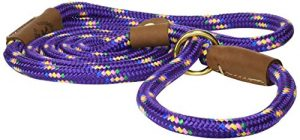 Mendota Products Slip Lead,  1/2″ X 6′, Purple Confetti, Dogs