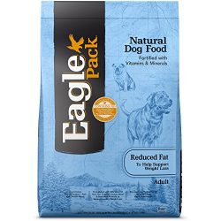 Eagle Pack Natural Dry Reduced Fat Dog Food, Pork, Chicken & Fish, 30-Pound Bag
