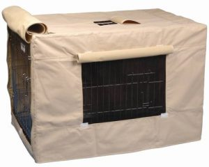 Precision Pet Indoor Outdoor Crate Cover for Size 5000 Crates Tan