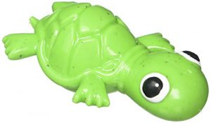 Cycle Dog 3-Play Turtle Dog Toy with Ecolast Recycled Material, Mini, Green