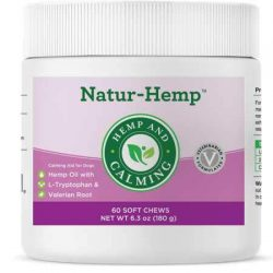 Green Pet Organics Naturhemp Hemp Calming (60 Soft Chews)