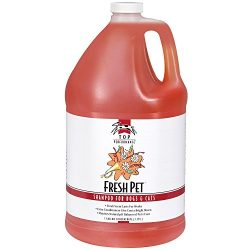 Top Performance Fresh Pet Shampoo, 1-Gallon