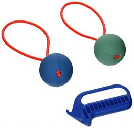Pro Ball Go-Frrr Slingshot-Action Dog Fetch Toy, Double Play Kit, Large