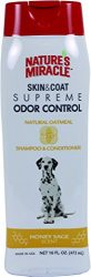 Nature's Miracle Supreme Oatmeal Odor Control Shampoo, 16 oz.