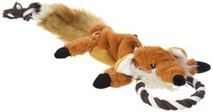 Ethical Pets Forest Fox Skinneeez Tugs Stuffingless Dog Toy, 23″