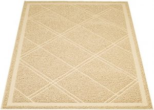 AmazonBasics Cat Litter Mat, 24″ x 35″, Tan