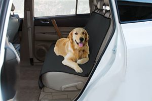 Yes Pets Oxford Waterproof, Tear Proof Bench Style Car Seat Cover, 56-Inch by 47-Inch, Black