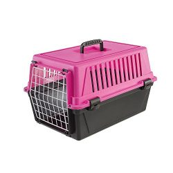 Ferplast 73007199PB Plastic pet Kennel, 11lb