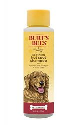 Burt's Bees for Dogs Natural Hot Spot Shampoo with Apple Cider Vinegar and Aloe Vera | Puppy and Dog Shampoo, 16 Ounces
