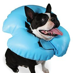 KVP Air-O Pet Inflatable Recovery Collar, S Size Fits 6″ to 10″ Neck/4.5″ Depth