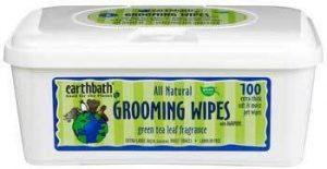 Earthbath Ear Grooming Wipes Green Tea 100pk