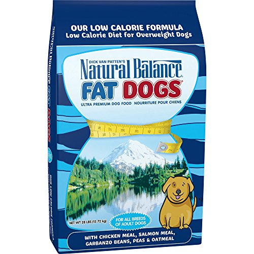 Natural Balance Fat Dogs Low Calorie Dry Dog Food, 28-Pound
