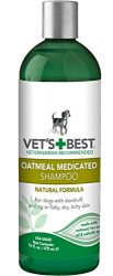 Vet's Best Oatmeal Medicated Dog Shampoo, 16 oz