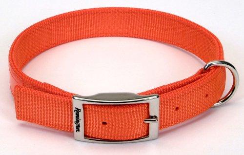 Remington Orange 1-Inch by 22-Inch Reflective Dog Collar
