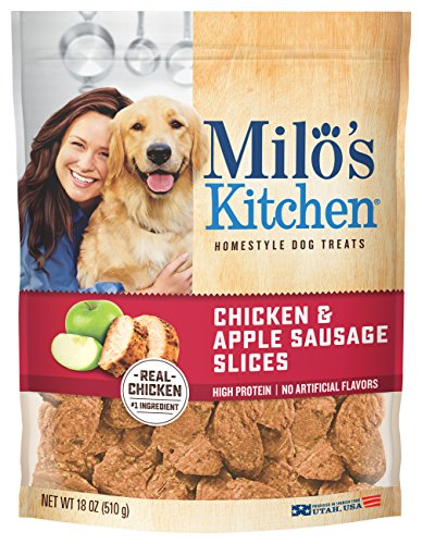 Milo's Kitchen Home Style Dog Treats, 18 Ounce – Chicken & Apple