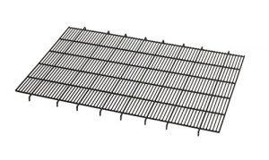 Floor Grid for Dog Crate | Elevated Floor Grid Fits MidWest Folding Metal Dog Crate Models 1542U, 1542DDU, 1642U, 1642DDU, 742UP, 442, 442DD