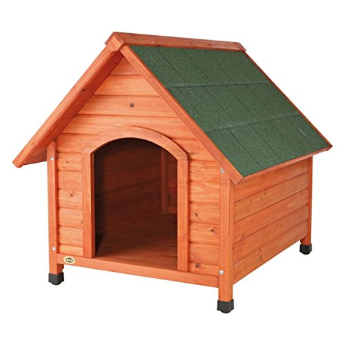 TRIXIE Pet Products Log Cabin Dog House, Medium
