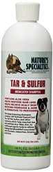 Nature's Specialties Tar and Sulfur Pet Shampoo, 16-Ounce