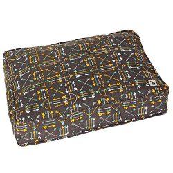 Molly Mutt Lion's Roar Dog Bed Duvet Cover, Medium/Large – 100% Cotton, Durable, Washable