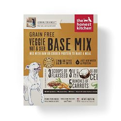 Honest Kitchen Grain Free Veggie Nut & Seed Base Mix Recipe for Dogs 7 lb Box – Kindly