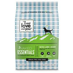 """I and love and you"" Naked Essentials Lamb & Bison Grain Free Dry Dog Food, 23 LB"